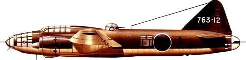 Mitsubishi G4M Betty Bomber