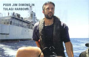 PODR Jim Dimond in Tulagi Harbour