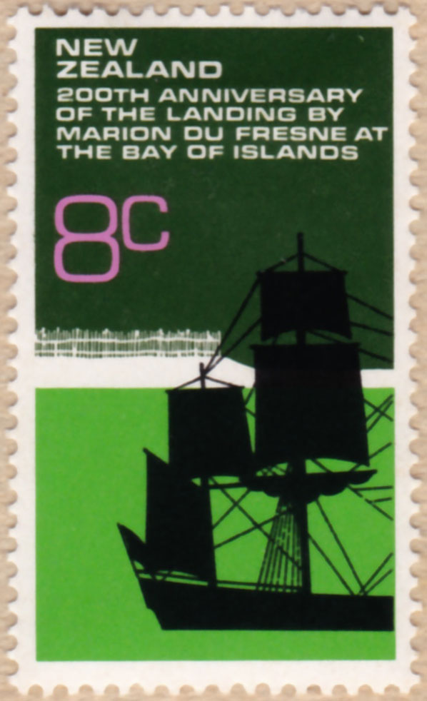 1972 New Zealand Postage Stamp